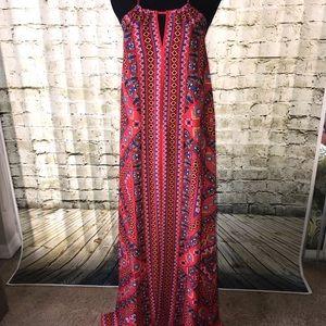 🌸 Flying Tomato Aztec Keyhole Maxi Dress 🌸